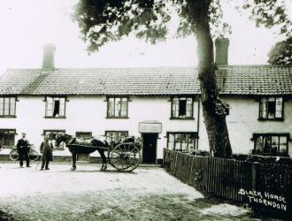The Black Horse past